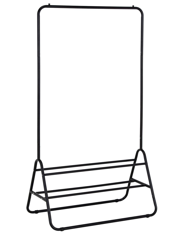 Habitat Arnie Clothes Rail with Shoe Rack - Black