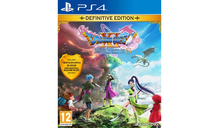 Dragon Quest XI S: Definitive Edition PS4 Game