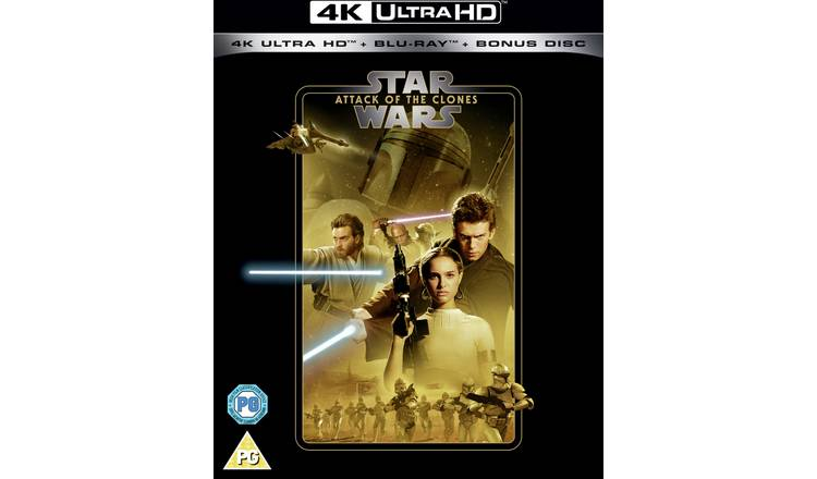 Star Wars Episode II: Attack Of The Clones 4K UHD Blu-Ray