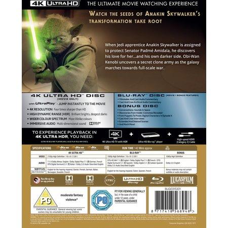 Star Wars Episode II: Attack Of The Clones DVD