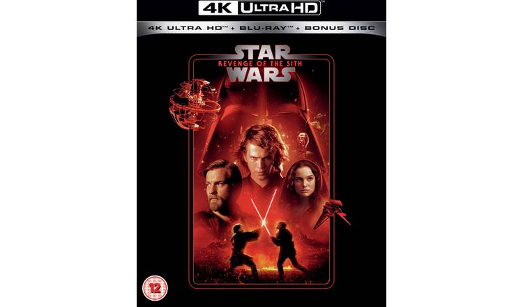 Star Wars Episode III: Revenge Of The Sith 4K UHD Blu-Ray