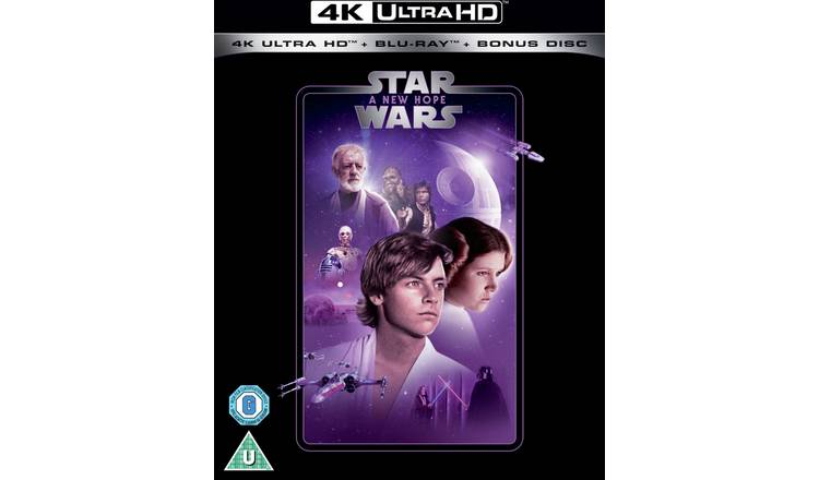Star Wars Episode IV: A New Hope 4K UHD Blu-Ray