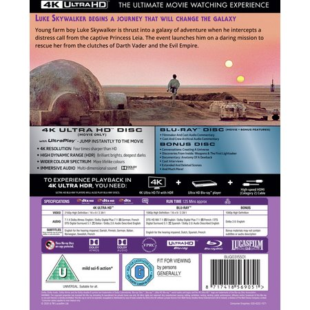 Star Wars Episode IV: A New Hope DVD