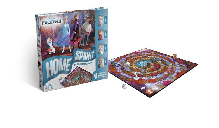 Disney Frozen 2 Home Sprint Board Game