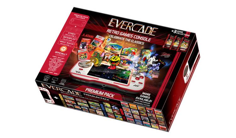 Evercade Retro Games Console - Premium Bundle