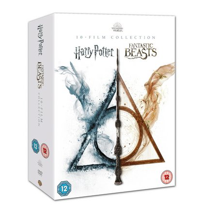The Wizarding World:10 Film Collection DVD Box Set