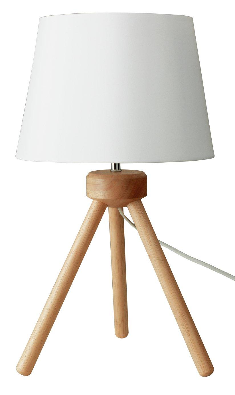 Argos Home Retreat Tripod Table Lamp - Wooden