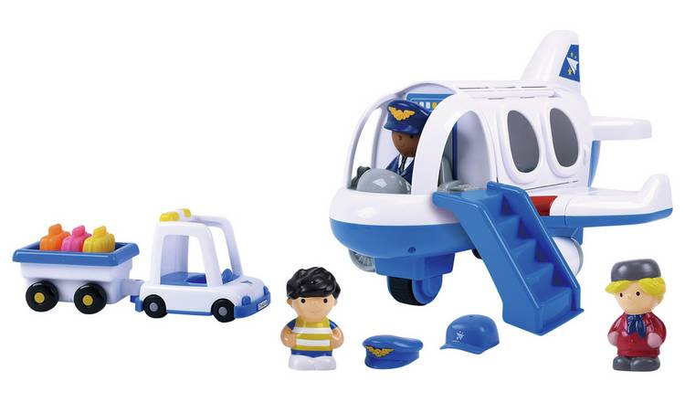 Chad Valley Tots Town Aeroplane Set