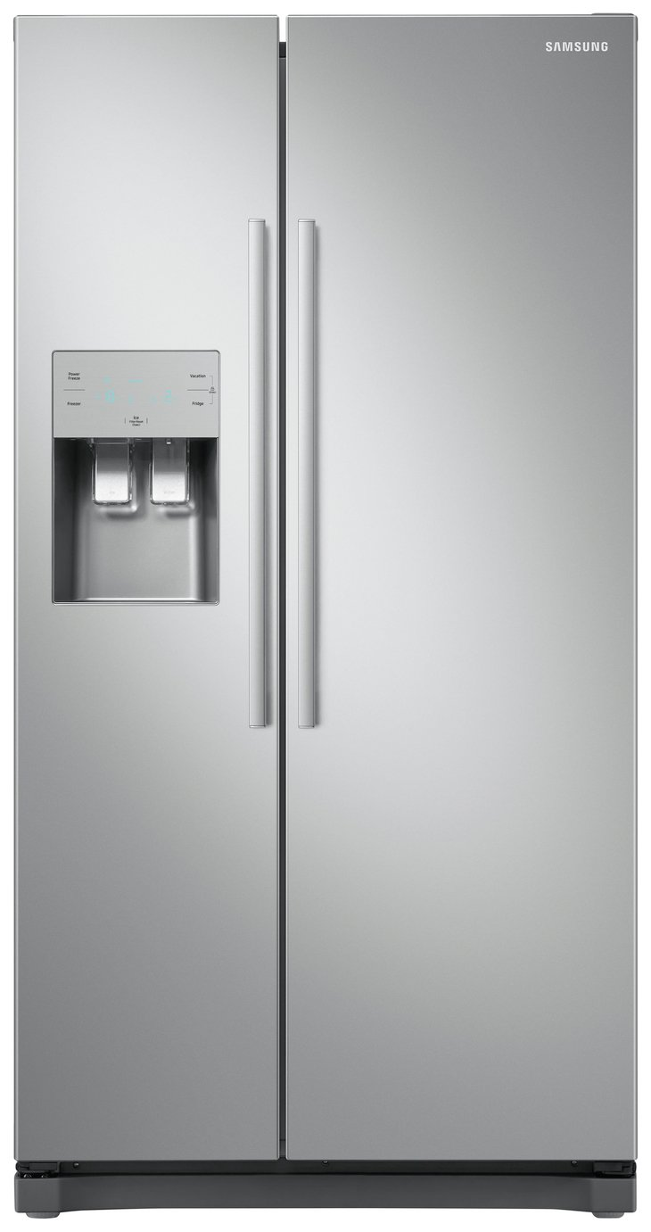 Samsung RS50N3513SA/EU American Fridge Freezer - Graphite Best Price, Cheapest Prices
