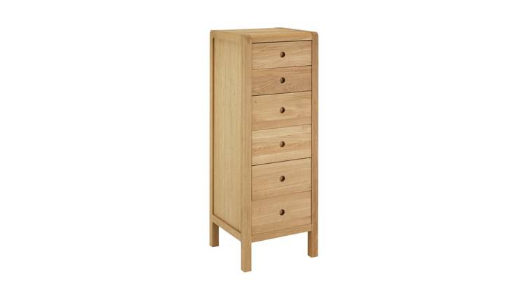 Habitat Radius 6 Drawer Chest - Oak
