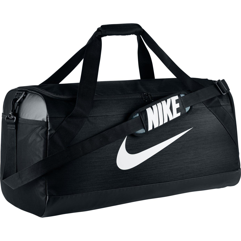 0c1890d648f4b3 Nike Brasilia Large Holdall Water Resistant Shoulder Carry Bag For Men Black  New