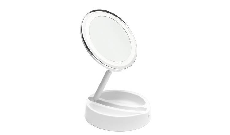 Rio LED Folding Mirror