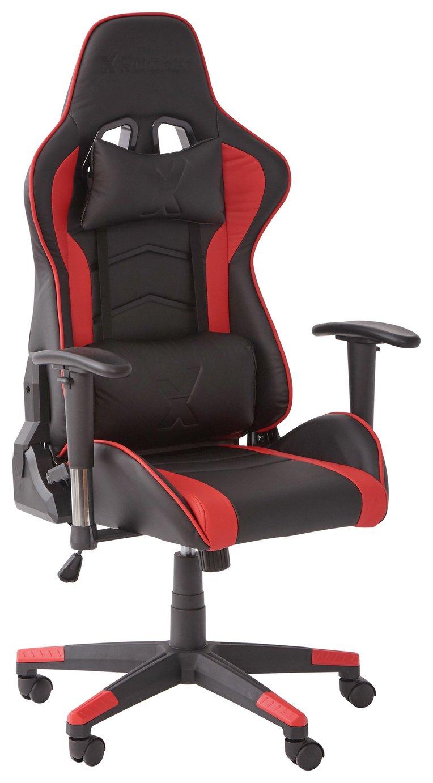 X-Rocker Height Adjustable Office Gaming Chair - Black