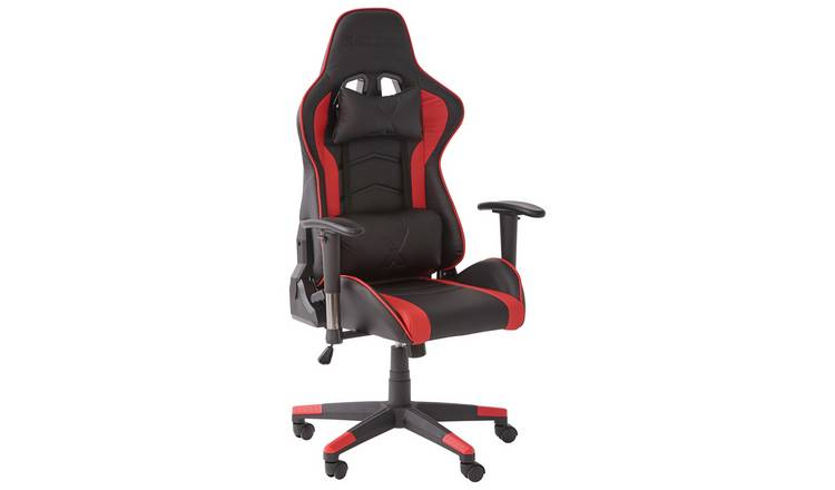 X Rocker Alpha eSports Ergonomic Office Gaming Chair - Red