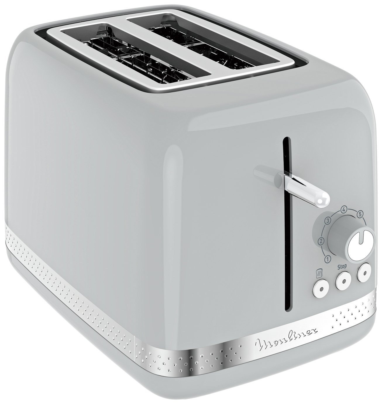 Moulinex LT300E41 2 Slice Toaster - Pepper