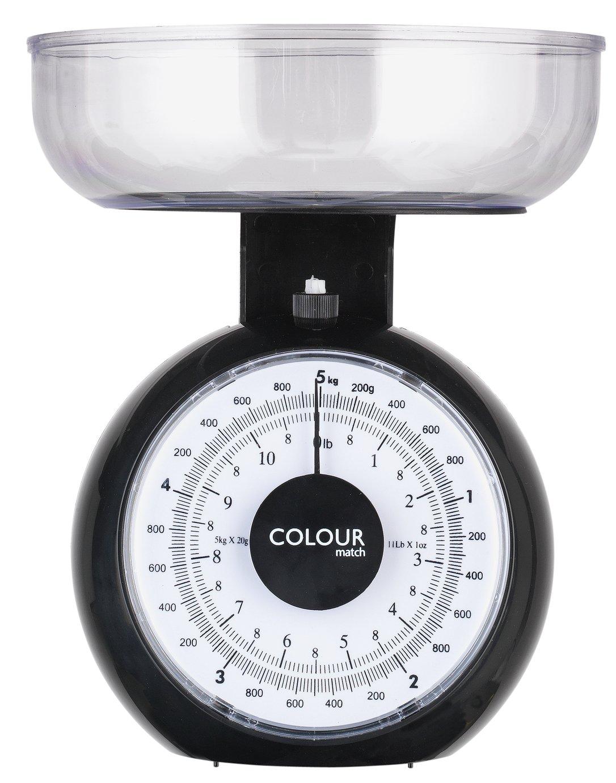 Argos Home Mechanical Kitchen Scale - Black
