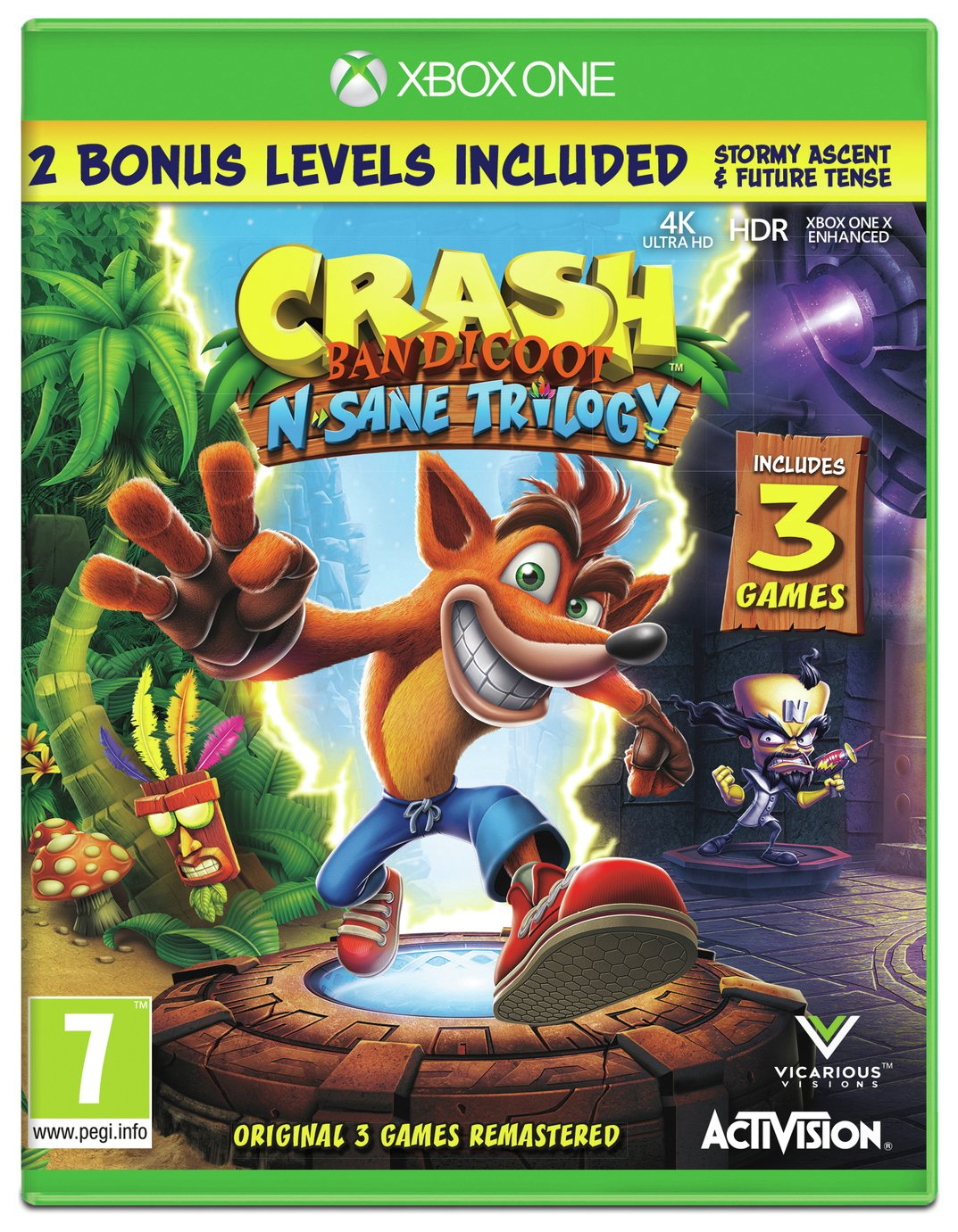 Crash Bandicoot N.Sane Trilogy Xbox One Game