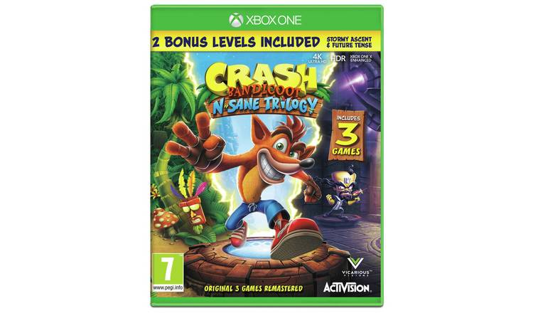 crash bandicoot xbox one digital code