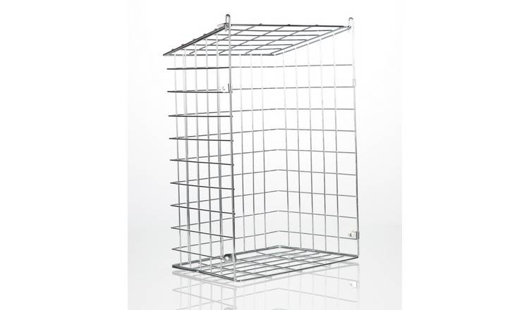New Supahome Letter Box Cage Metal White Plastic Coated SHW25 For UPVC Doors