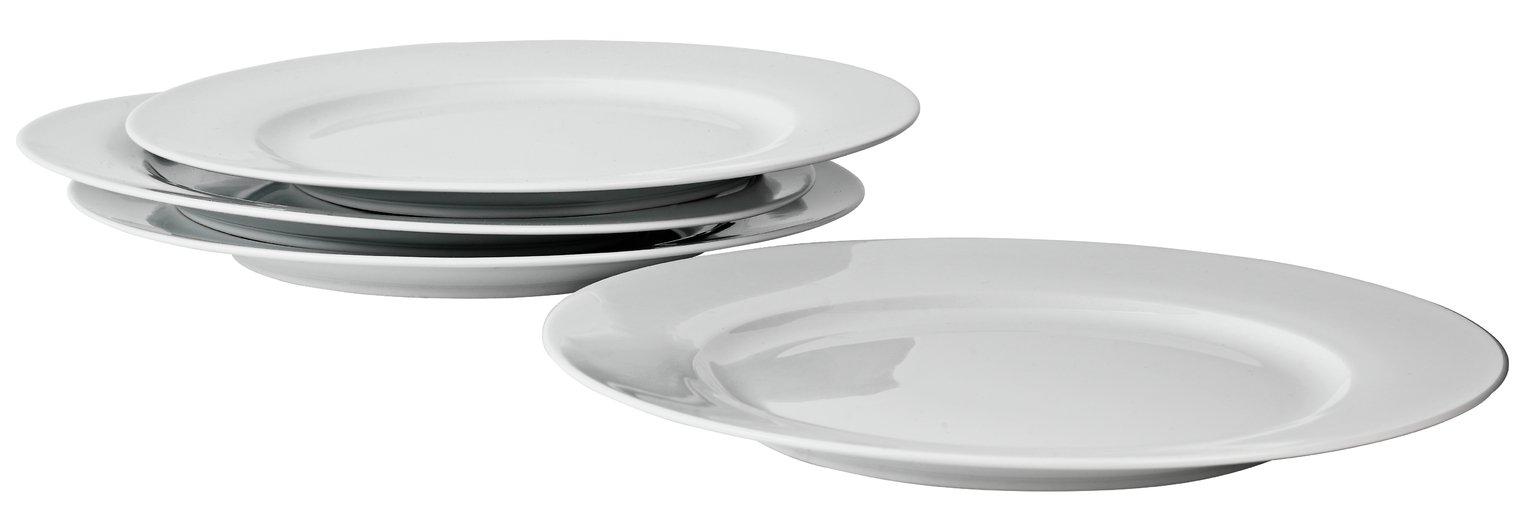 Argos Home Set of 4 Porcelain Dinner Plates Reviews