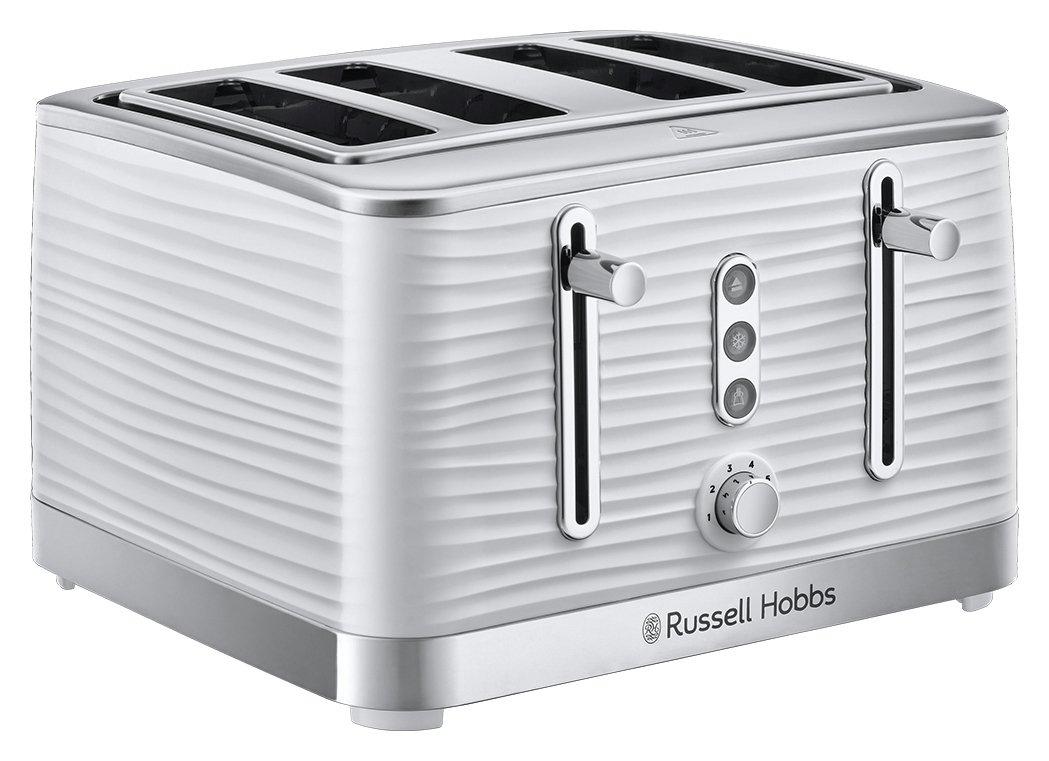 Russell Hobbs 24380 Inspire 4 Slice Toaster – White