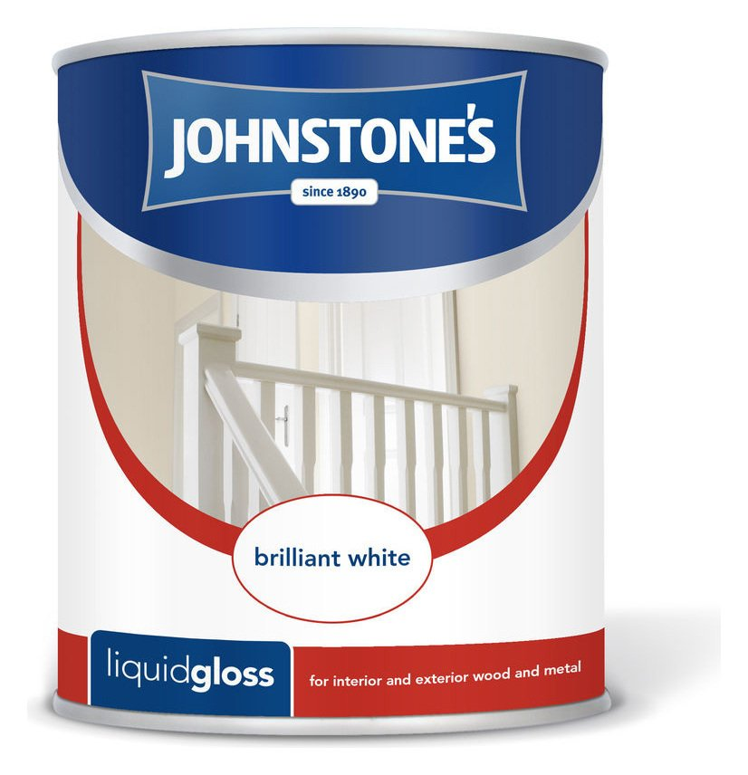 Johnstone's Liquid Gloss Paint 2.5 Litre - White