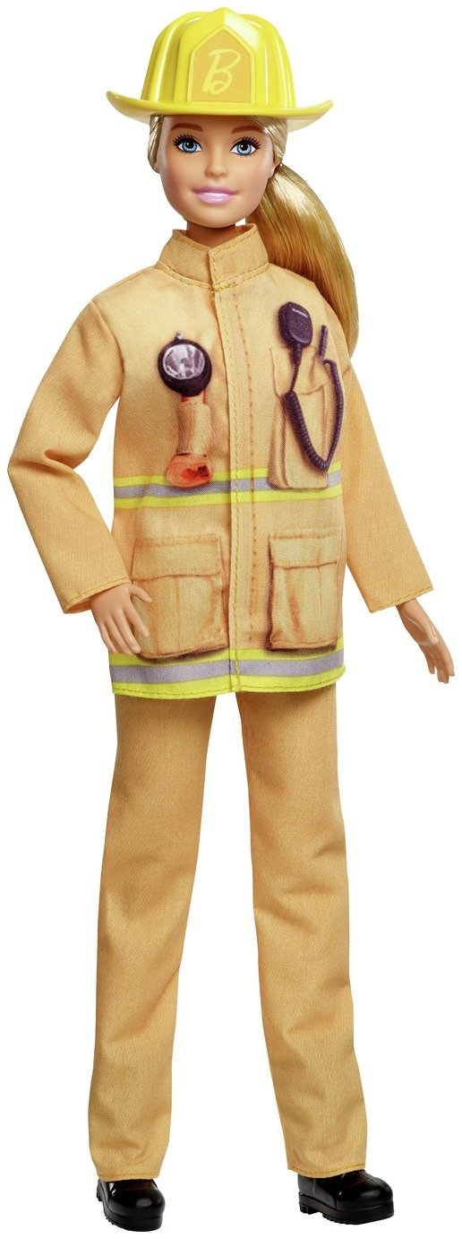 Barbie: I Can Be a Firefighter (60th Career Doll) review