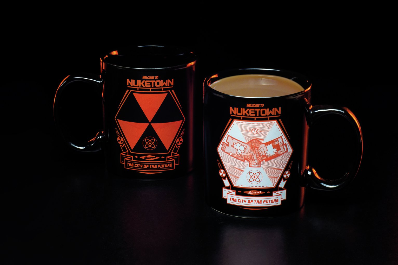 Image of Call of Duty Nuketown Heat Change Mug