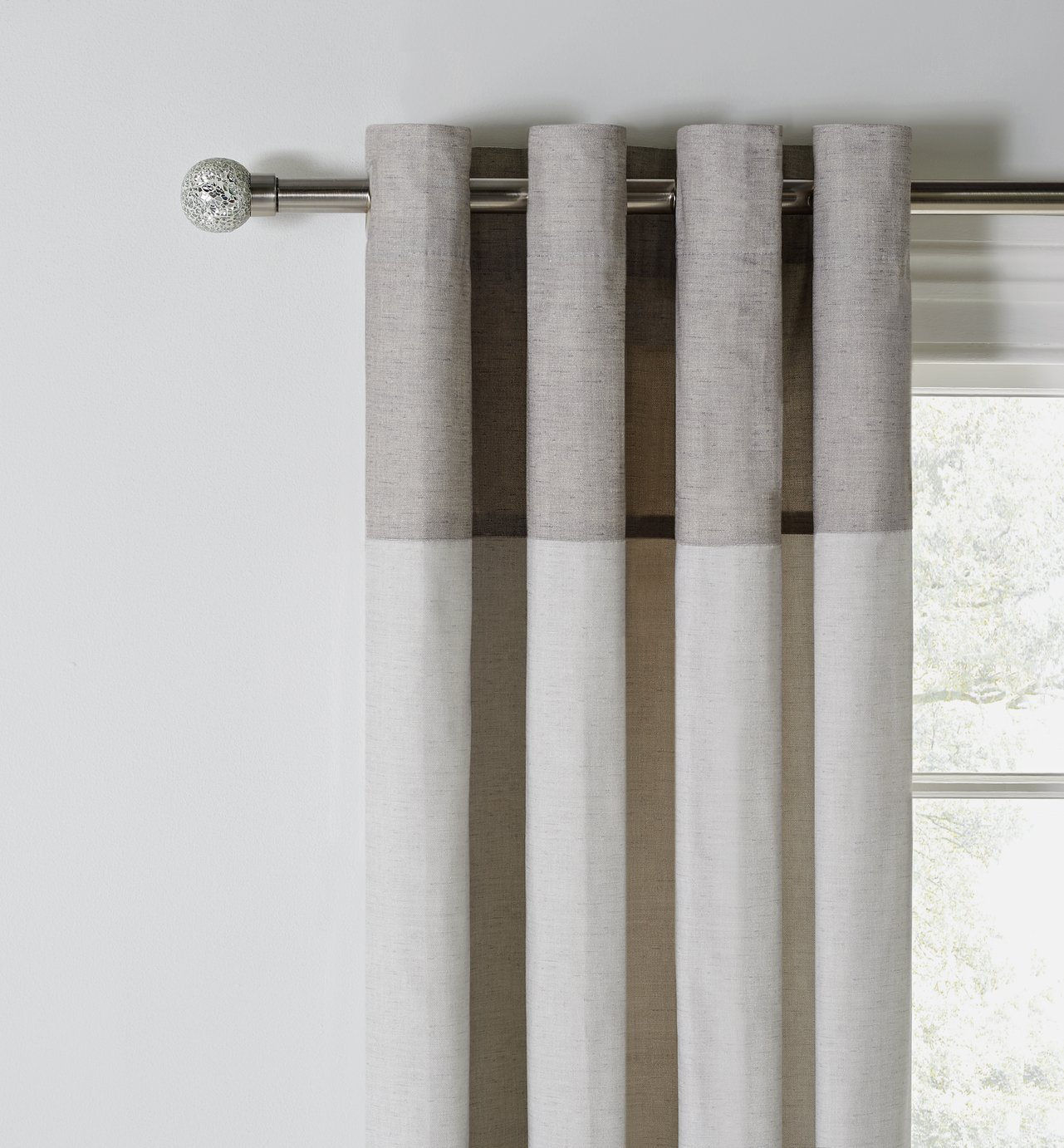 Argos Home Dublin Unlined Curtains review