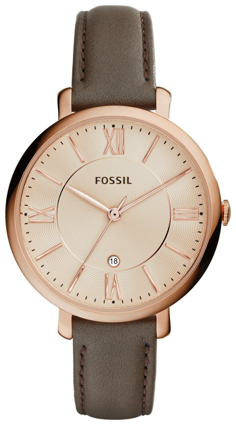 Fossil Ladies' Jacqueline ES3707 Rose Gold Tone Watch review