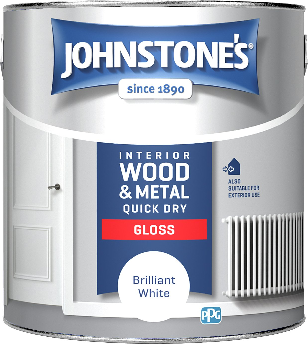 Johnstone's Quick Dry Gloss Paint 2.5 Litre review