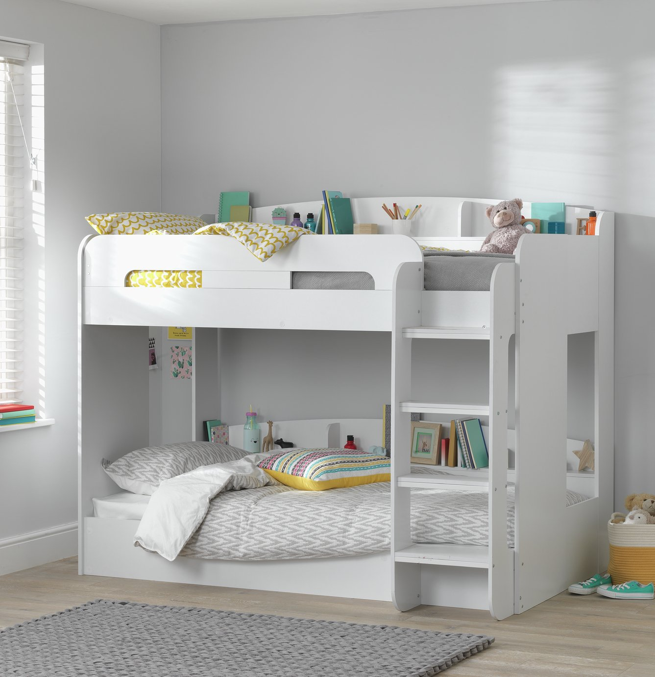 Argos Home Ultimate White Bunk Bed & 2 Kids Mattresses review