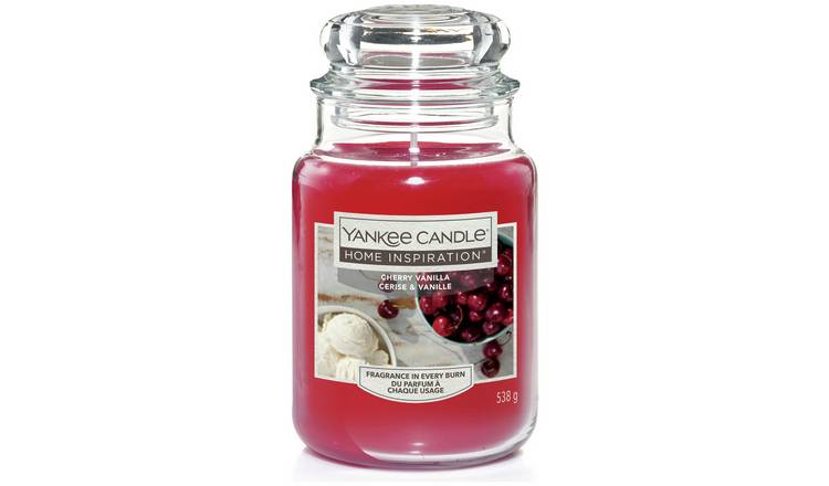 Home Inspiration Large Jar Candle - Cherry Vanilla