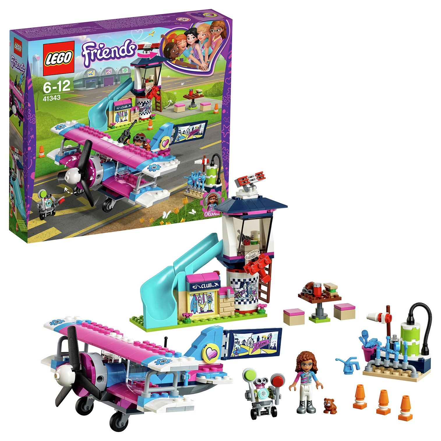 LEGO Friends Heartlake Airplane Tour review