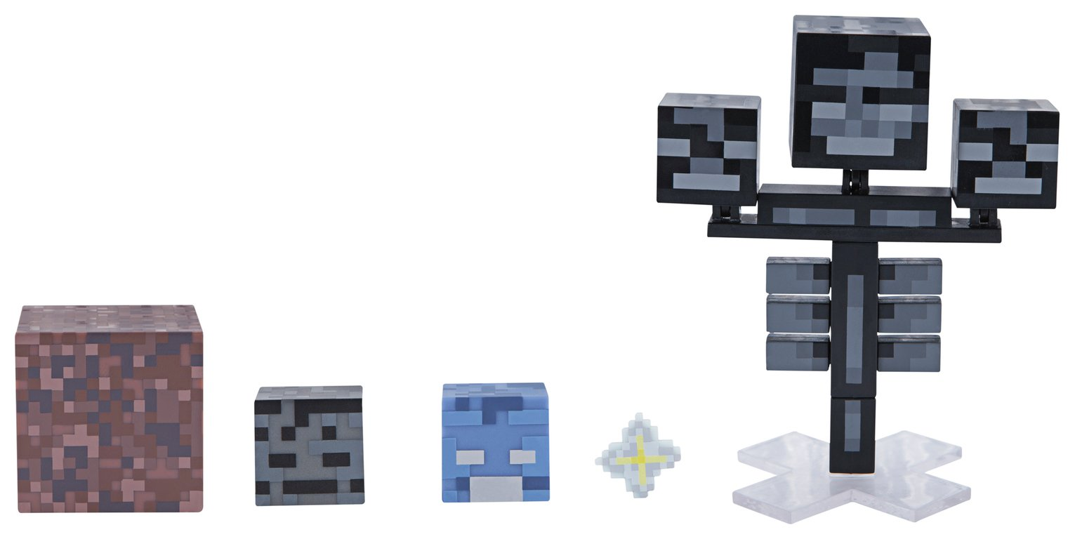 Buy Minecraft Wither Survival Pack Action Figures And Playsets Argos