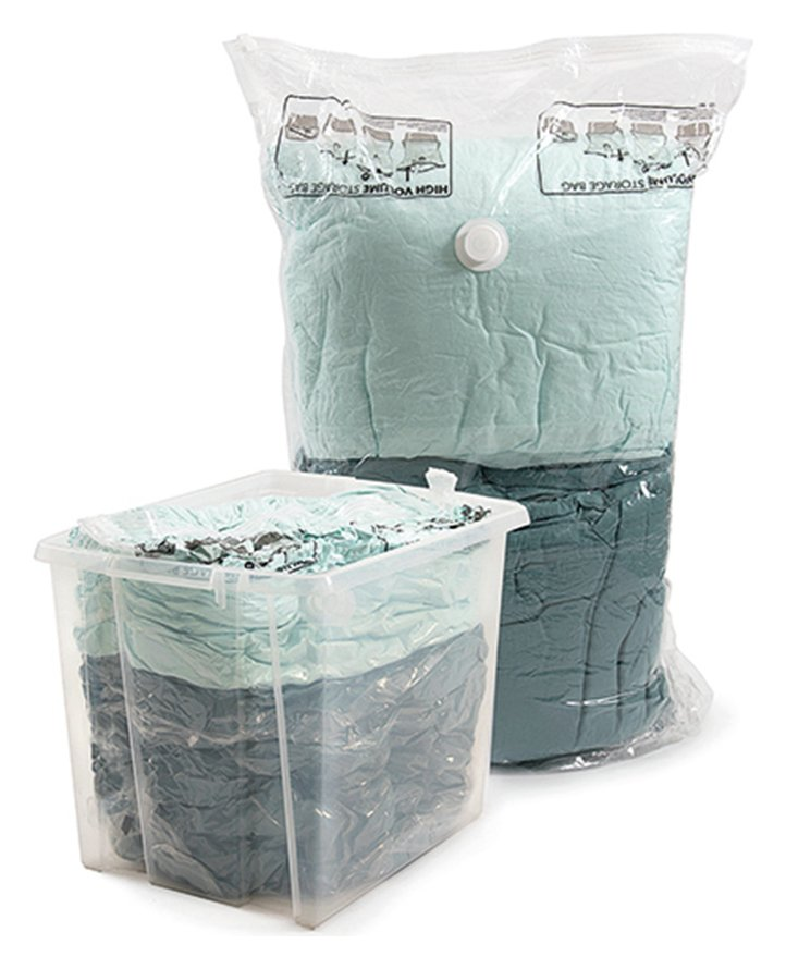 Protect & Store Pack of 2 Extra Large Vacuum Storage Bags at Argos review