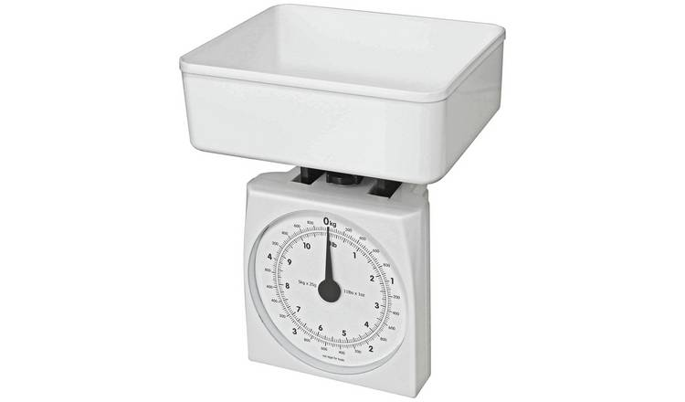 Argos Home Mechanical Scale - White
