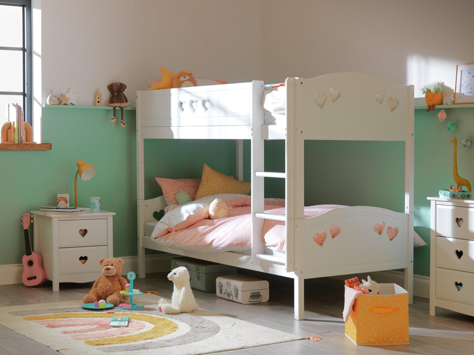 Argos Home Mia White Single Bunk Bed Frame review