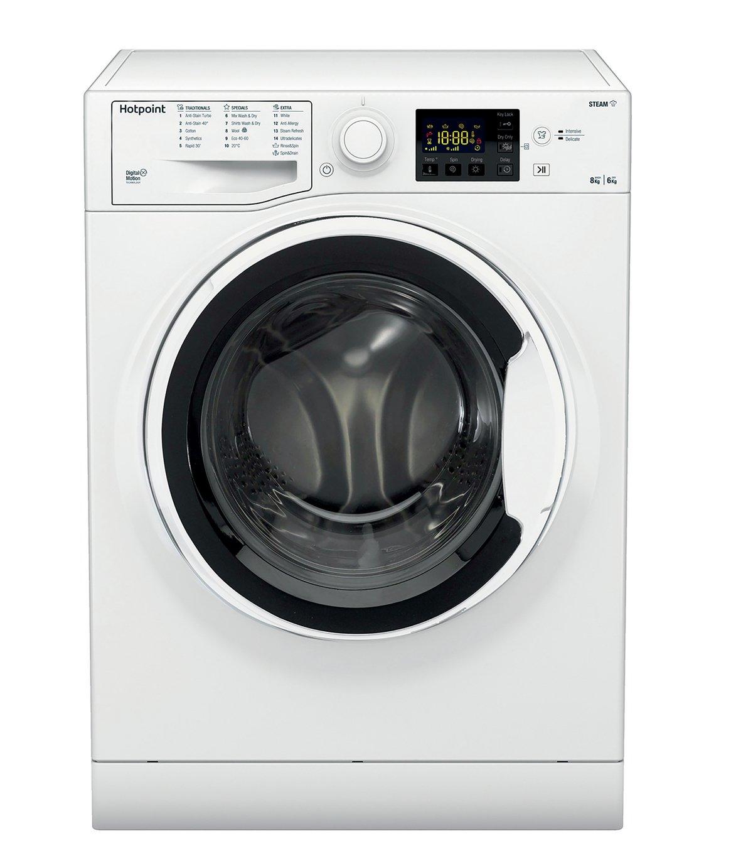 Hotpoint RDG8643WW 8KG / 6KG 1400 Spin Washer Dryer - White