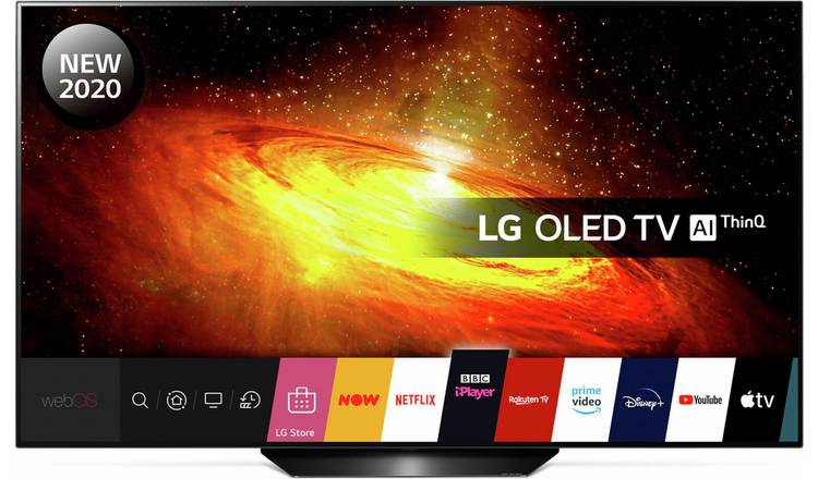 LG 55 Inch  OLED55BX6LB Smart 4K UHD HDR OLED  Freeview TV