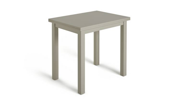 Habitat Chicago Extending 4 Seater Dining Table - Grey