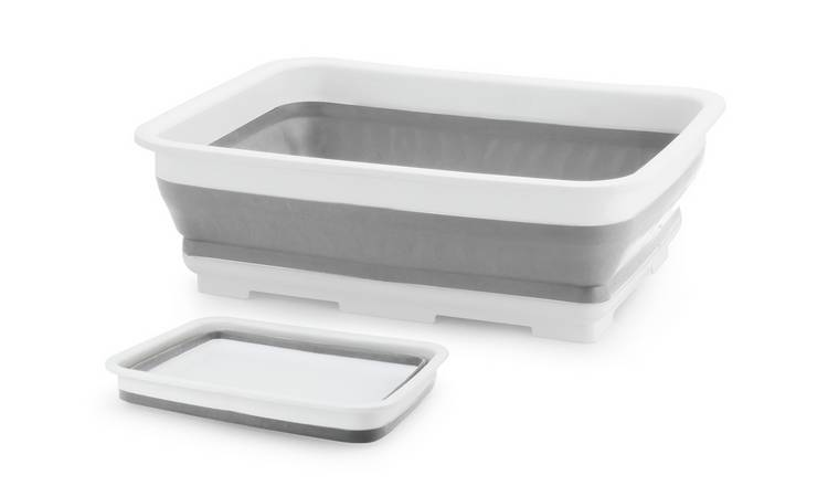 Beldray Collapsible Washing Up Bowl - Grey