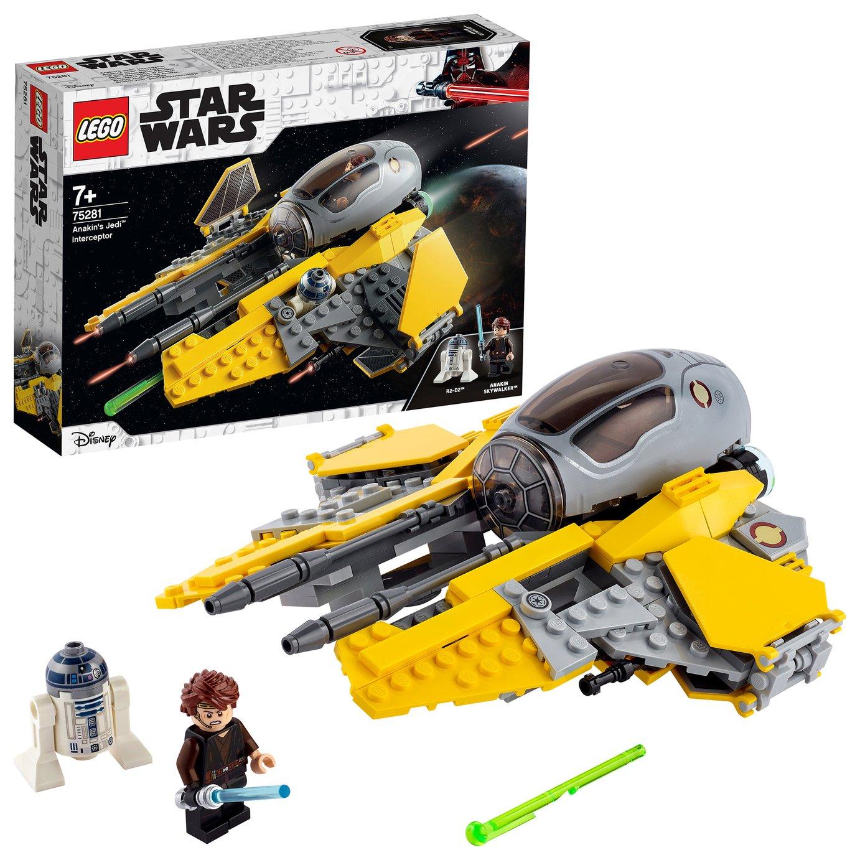 LEGO Star Wars Anakin's Jedi Interceptor Toy 75281
