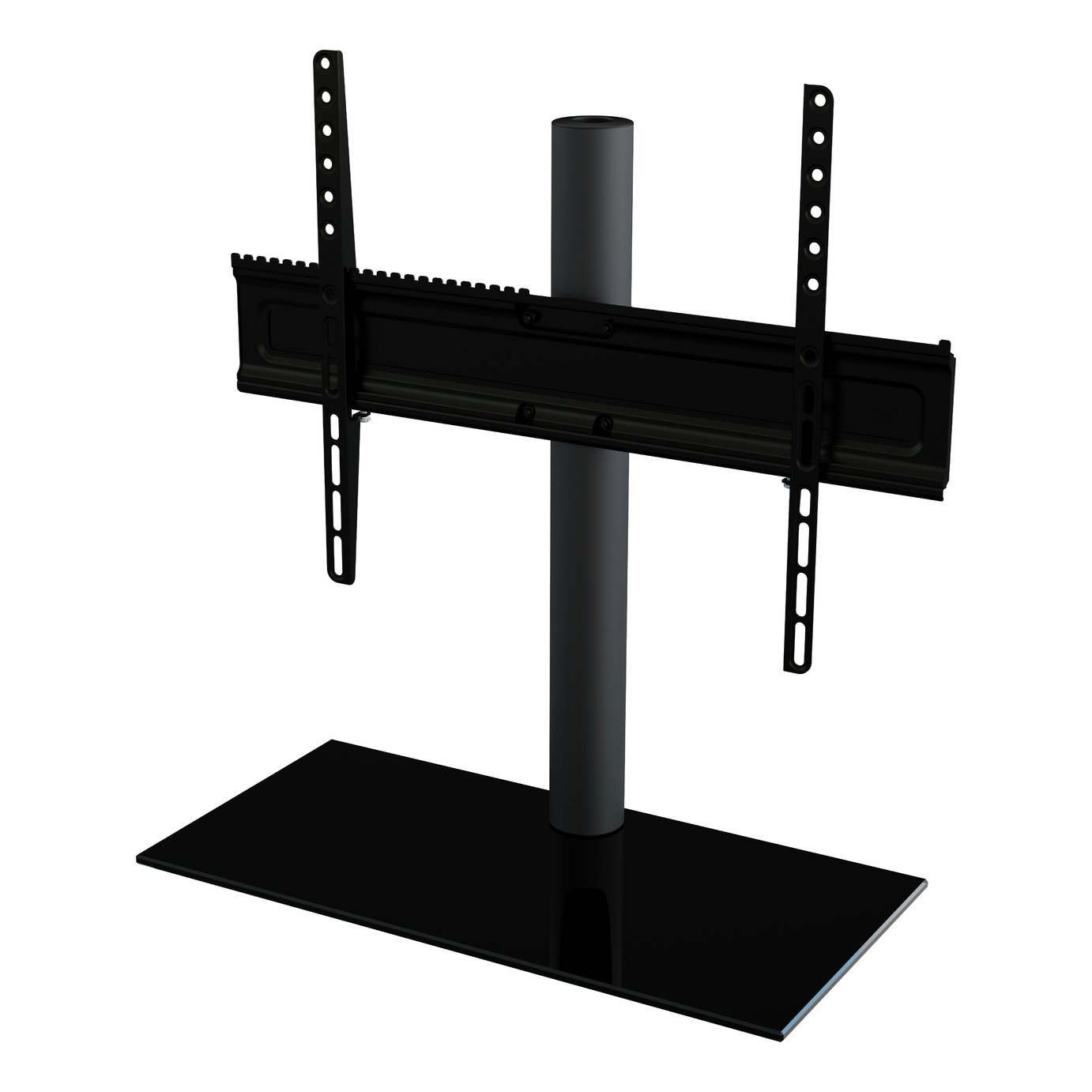 AVF Up To 65 Inch Glass Tabletop TV Stand - Clear