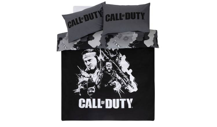 Call of Duty Black Bedding Set - Single
