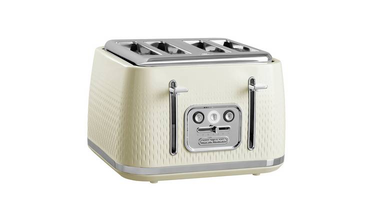 Morphy Richards 243011 Verve 4 Slice Toaster - Cream