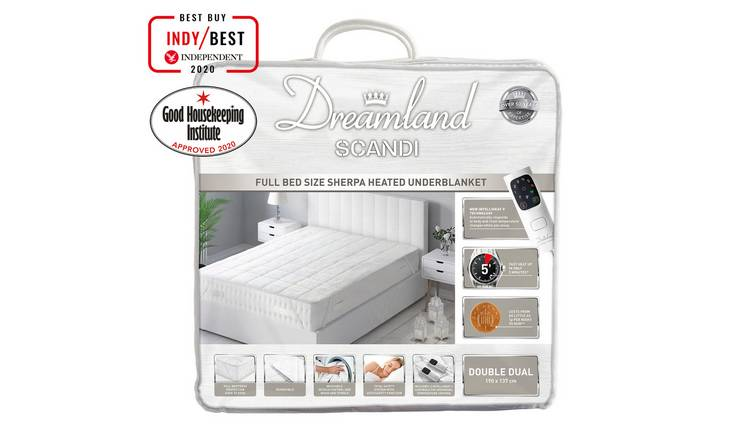 Dreamland Scandi Dual Control Underblanket - Double