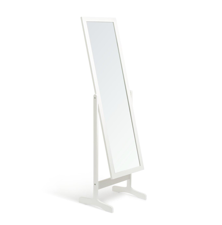Argos Home Full Length Wooden Cheval Mirror - White