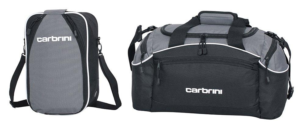 Carbrini Large Grey Holdall and Shoe Bag