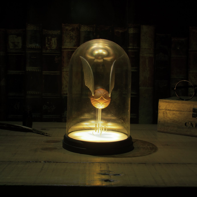 Harry Potter Golden Snitch Jar Light